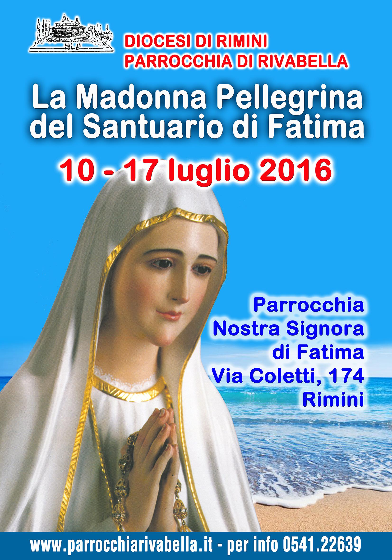 locandina Madonna Fatima